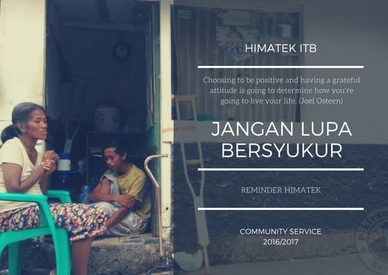 Reminder Comserv: Perjuangan Hidup Sebuah Keluarga Telantar di Bandung