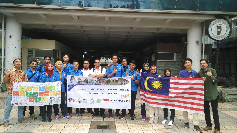 HIMATEK Welcome – HIMATEK-ITB menyambut Universitas Kuala Lumpur dan Politeknik Negeri Bandung